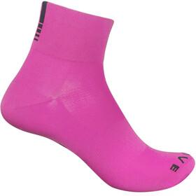 GripGrab Lightweight SL Short Socks pink hi-vis